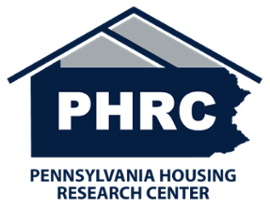 PHRC logo of a house